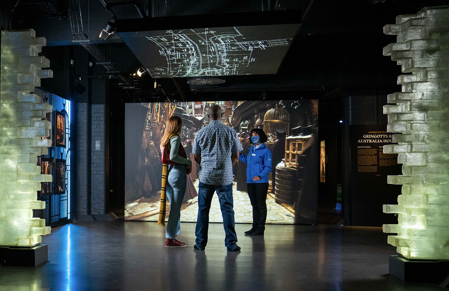 The Harry Potter Photographic Exhibition - Diagon Alley