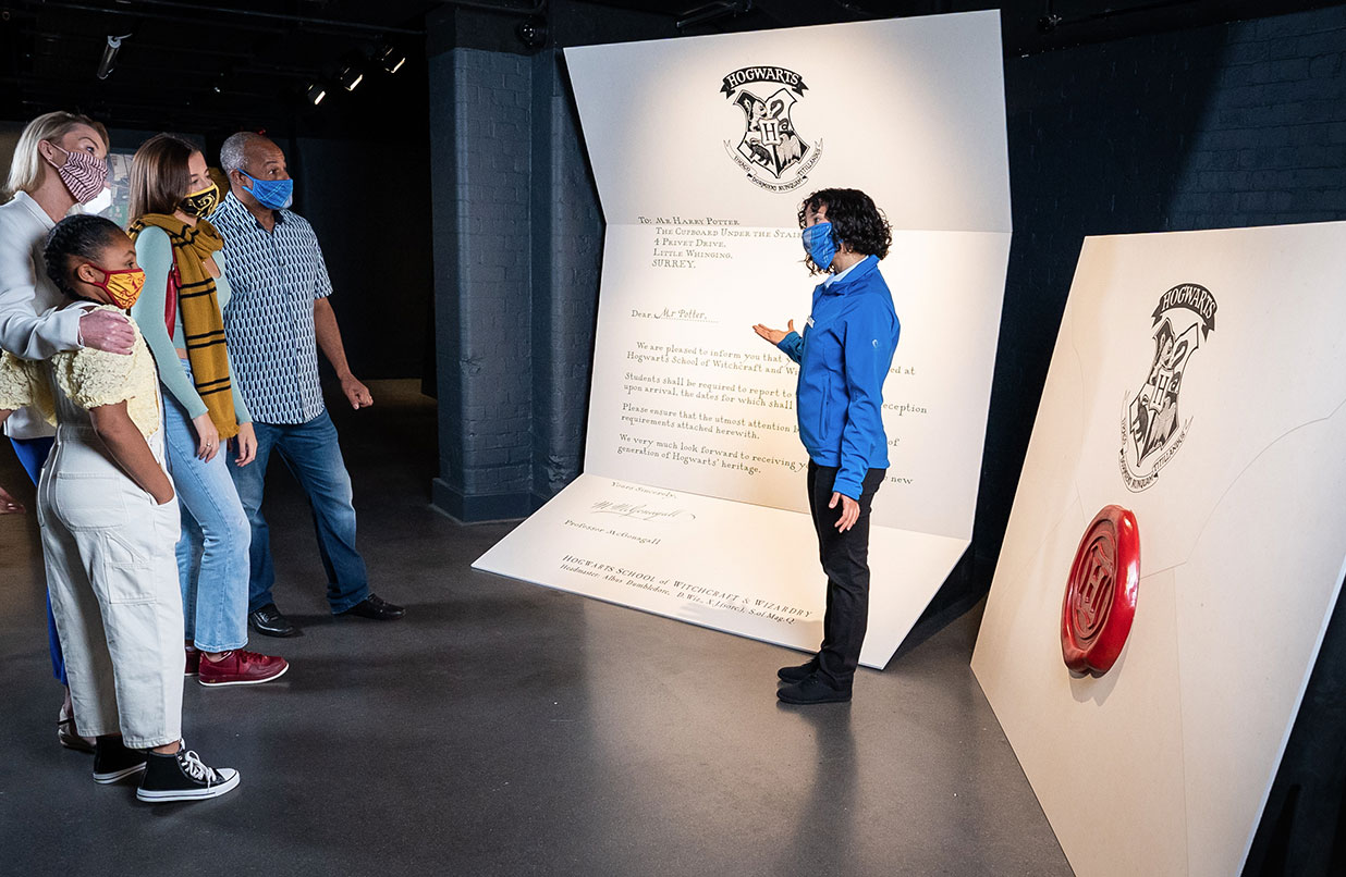 The Harry Potter Photographic Exhibition - Hogwarts Letter